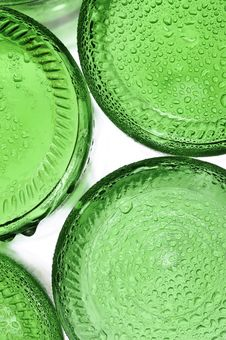Free Green Bottle Royalty Free Stock Image - 17734996