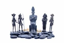Free Egyptian Ceramic Figures Stock Images - 17737324
