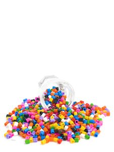 Free Multicoloured Beads Background Royalty Free Stock Photography - 17737707