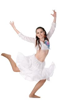 Cool Dancer Woman Stock Images
