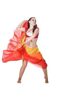 Free Cool Dancer Woman Stock Photos - 17737873