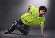 Free Cool Dancer Man Stock Photo - 17737890