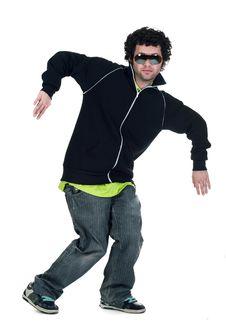 Free Cool Dancer Man Royalty Free Stock Images - 17737899