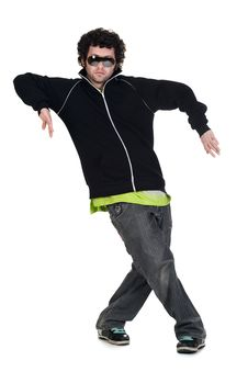 Free Cool Dancer Man Stock Photo - 17737900