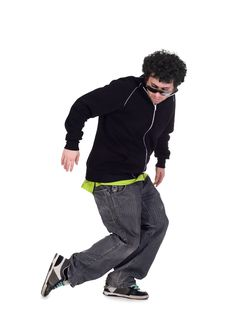 Cool Dancer Man Royalty Free Stock Image