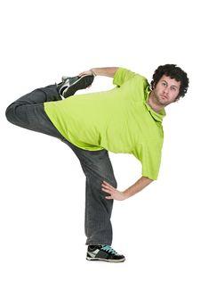 Free Cool Dancer Man Royalty Free Stock Image - 17737916