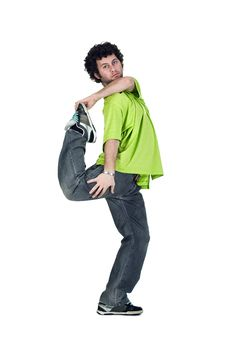 Free Cool Dancer Man Stock Photo - 17737920