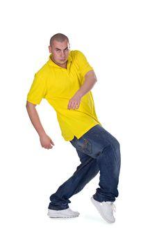 Free Cool Dancer Man Stock Images - 17737944