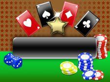 Free Casino Background Stock Image - 17738121
