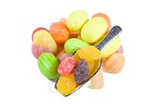 Multi-colored Sweets Stock Photos