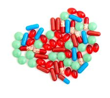Free Colorful Tablets With Capsules Stock Images - 17738204