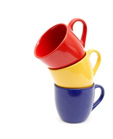 Free Beautiful Color Cups Stock Photos - 17738333