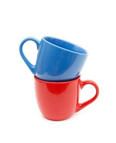 Free Beautiful Color Cups Stock Photo - 17738340