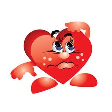 Free Abstract Heart. Royalty Free Stock Photo - 17738375