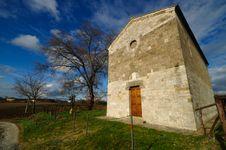Free Church Of Fontana (Tuscany) Royalty Free Stock Image - 17739286