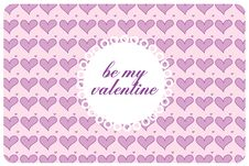 Free Postcard St Valentine S Day Royalty Free Stock Photos - 17739808