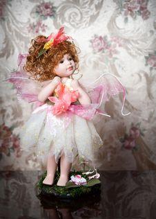 Beautiful China Doll. Royalty Free Stock Photo