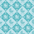Free Cute Baby Arrival Pattern Stock Images - 17740914