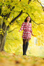 Free Autumn Woman Stock Photography - 17742652