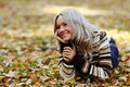 Free Autumn Woman Royalty Free Stock Image - 17743676