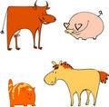 Free Farm Animals Royalty Free Stock Image - 17743956
