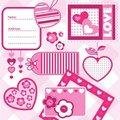 Free Valentine Scrapbook Elements Stock Photo - 17746880