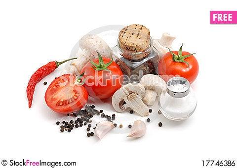 Free Italian Food Royalty Free Stock Image - 17746386