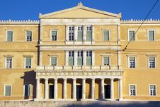 Parliament Of Greeks Stock Photography