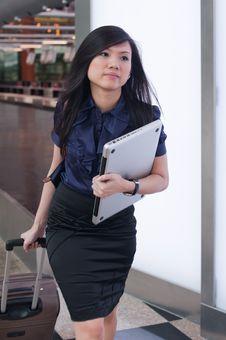 Free Rushing Business Woman Stock Photos - 17740543