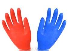 Free Gloves Royalty Free Stock Photography - 17740907