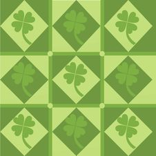 Free Cute Clover Pattern Stock Images - 17740924