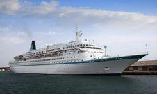Free Cruise Tied Up Stock Photo - 17740990