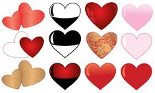 Free Collection Of  Hearts Stock Photo - 17741210