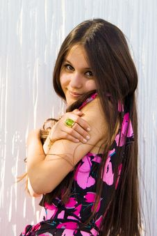 Free Beautiful Asian Girl Stock Image - 17741731