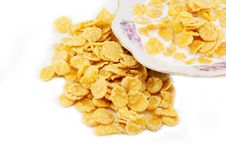 Free Corn Flakes With Milk Stock Photos - 17742093