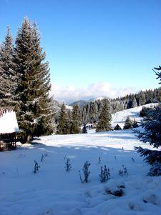 Free Winter Landscape Royalty Free Stock Image - 17742546