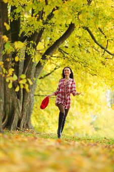 Free Autumn Woman Stock Photography - 17742642