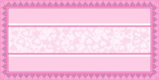 Free Valentine Card Background Royalty Free Stock Photos - 17742668