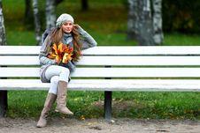 Free Autumn Woman Stock Image - 17742801