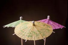 Free Paper Umbrella Stock Images - 17743014