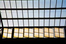 Free Glass Of Window In Trainstation Royalty Free Stock Photo - 17743235