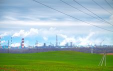 Free Chemical Plant Stock Photo - 17743290