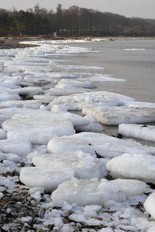 Free Danish Winter Beach Stock Image - 17743591