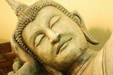 Light Of Buddha Stock Photography