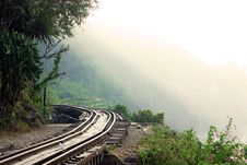 Free Dying Railway Tracks Royalty Free Stock Photography - 17743787
