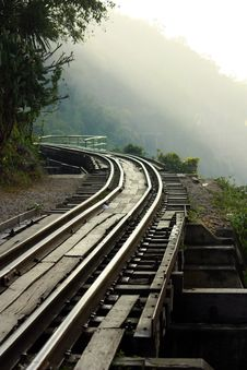 Free Dying Railway Tracks Royalty Free Stock Photo - 17743835