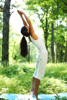 Free Yoga Royalty Free Stock Images - 17744289