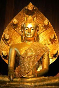 Light Of Buddha Royalty Free Stock Photo