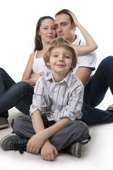 Free Family Lifestyle Portrait Royalty Free Stock Photo - 17745145