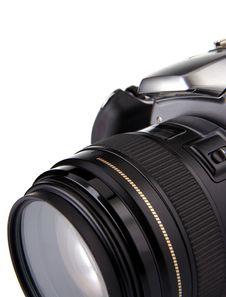 Free Digital Photo Camera Isolated On White Stock Image - 17745261